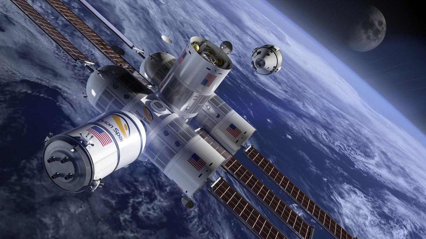 Recreación del aspecto que tendrá el hotel espacial