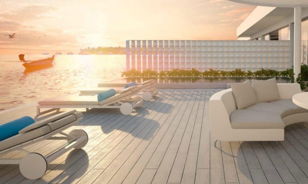Las nuevas suites del hotel de lujo submarino en maldivas for Hoteles super lujo maldivas