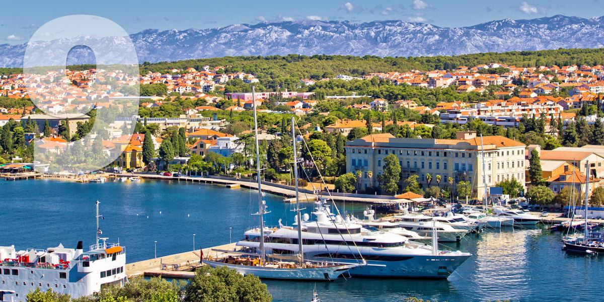 Zadar, Croacia: 98.1 libras, 112,1 euros