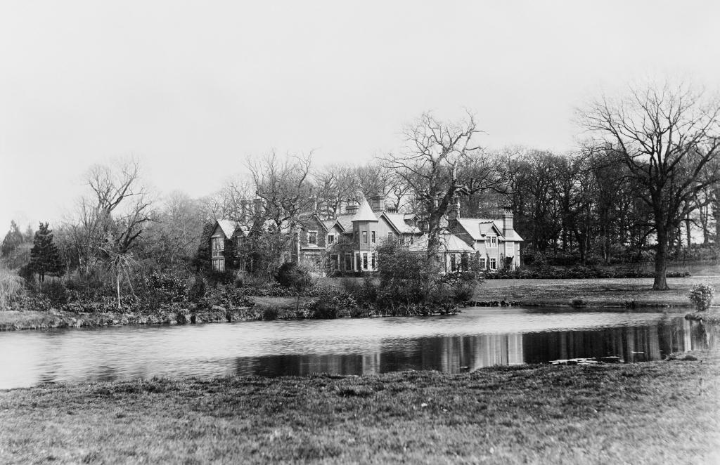 Imagen antigua de la propiedad / Royal Collection Trust