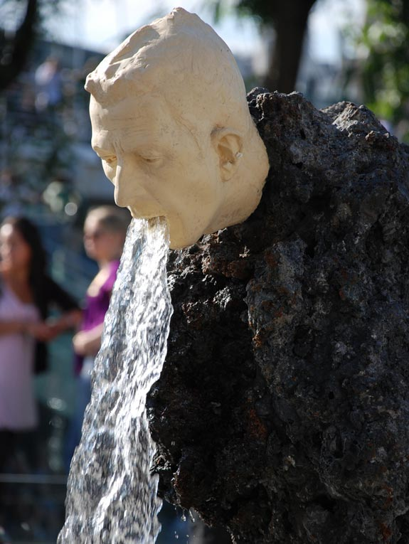 Vomiting Fountain Sculpture