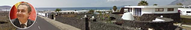Zapatero se compra una casa en la playa de medio millón en Lanzarote