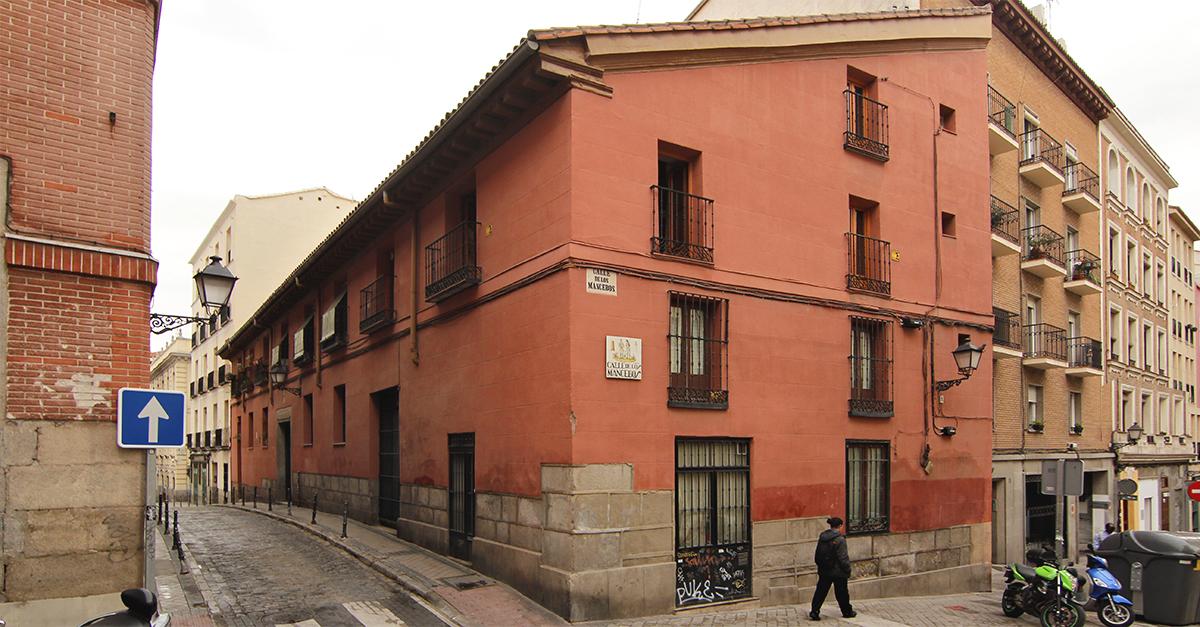 Casa a la Malicia en la calle Redondilla