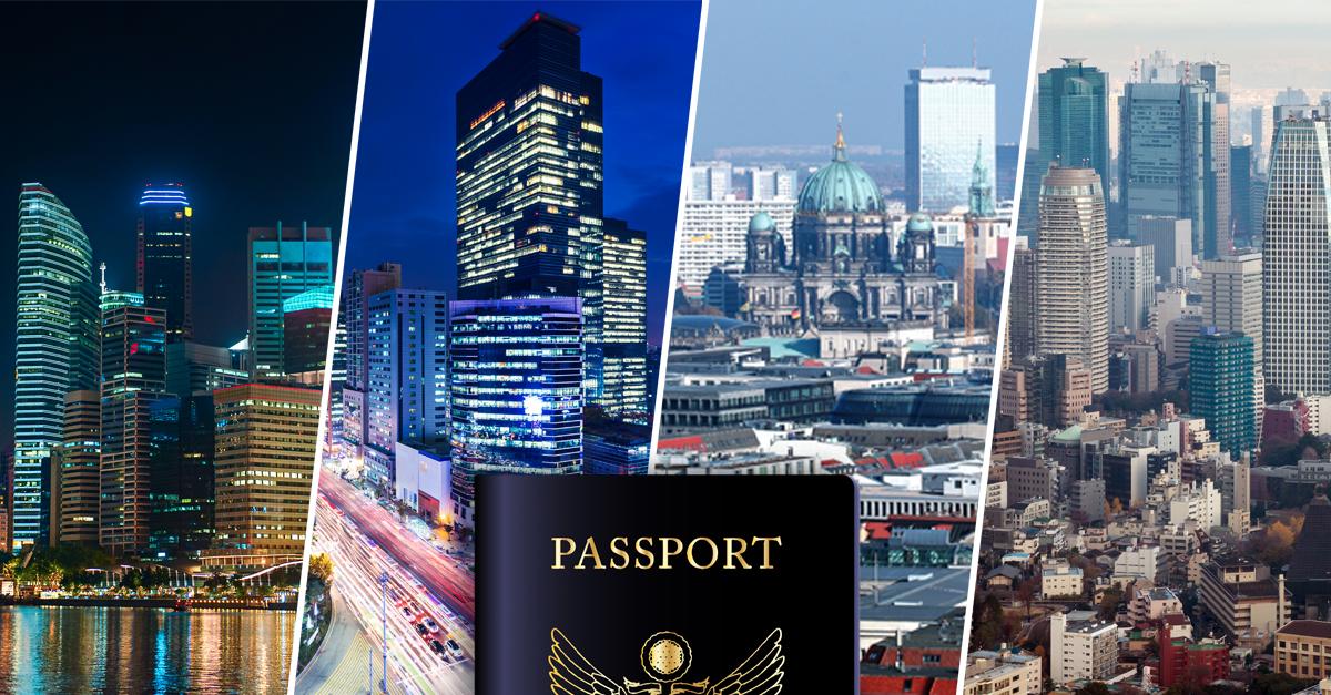 Los 10 mejores pasaportes del mundo