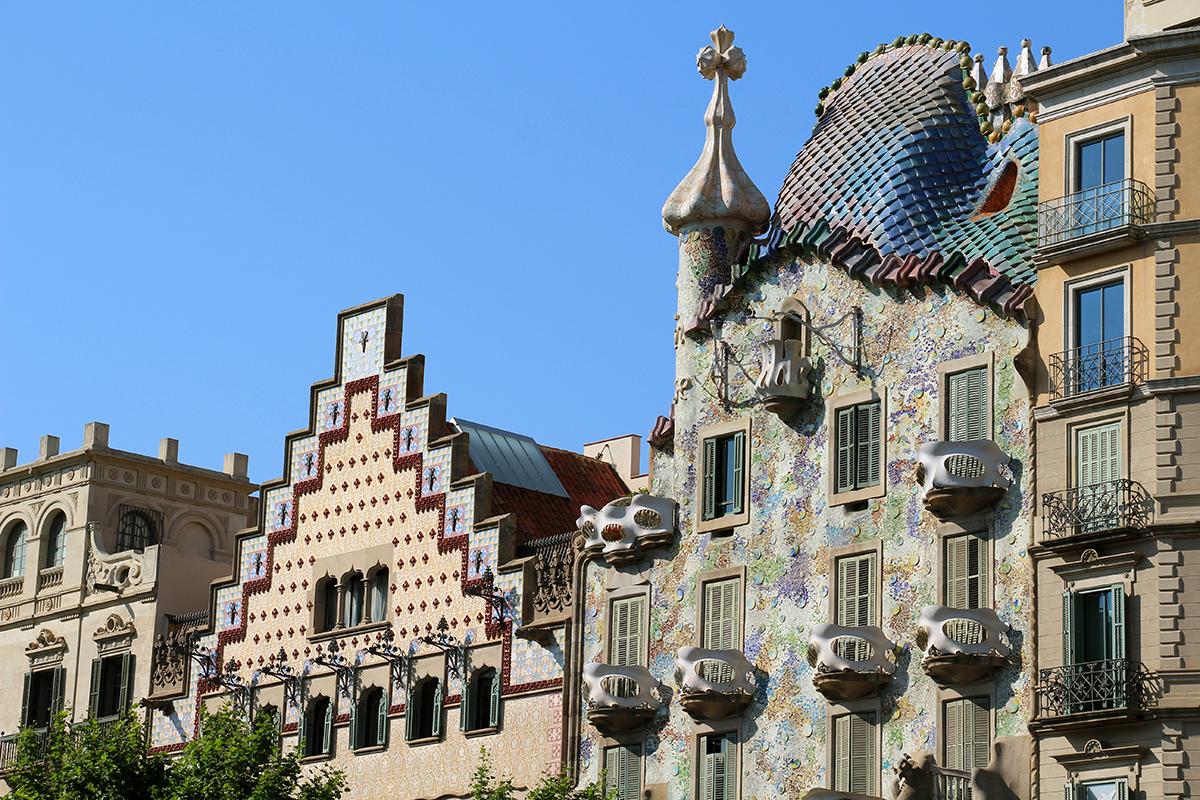 Una de las zonas más admiradas de la capital catalana es 'La manzana de la Discordia' / Gtres
