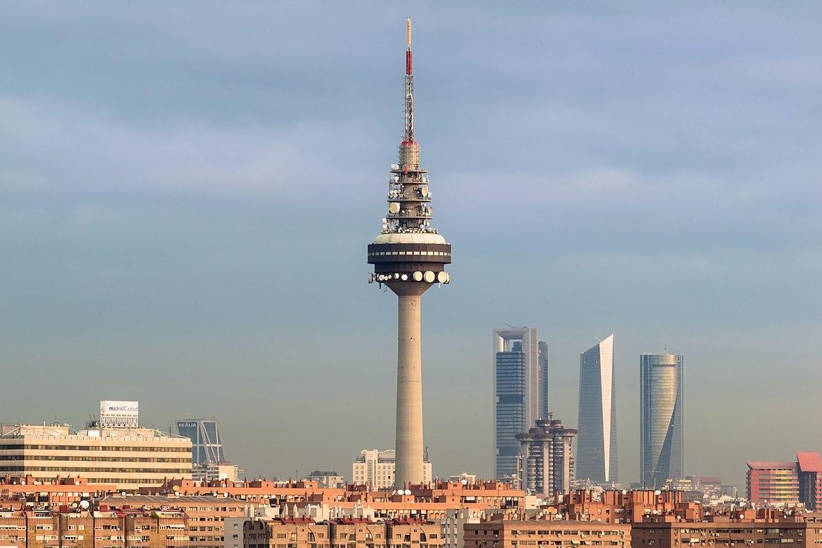 Torrespaña es un símbolo de Madrid