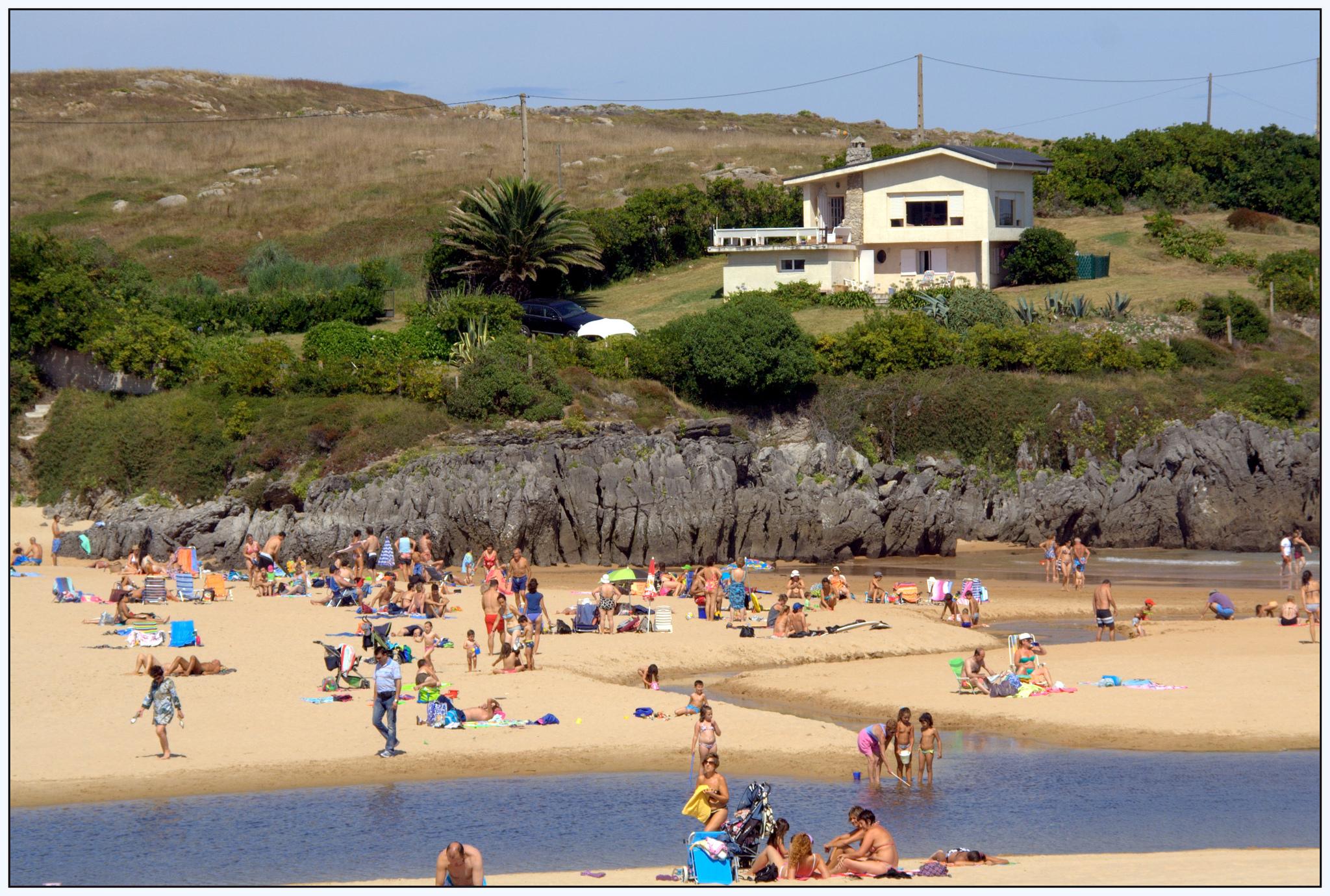 Playa Cuberris en Cantabria