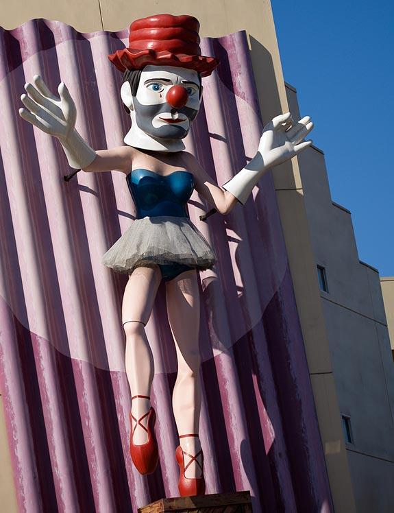 Disturbing Ballerina Man