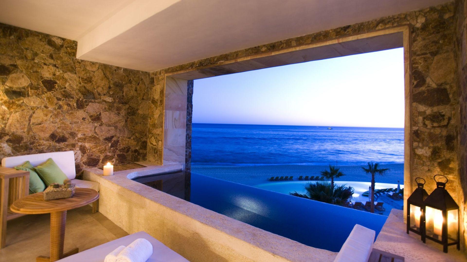 El mar visto desde una suite