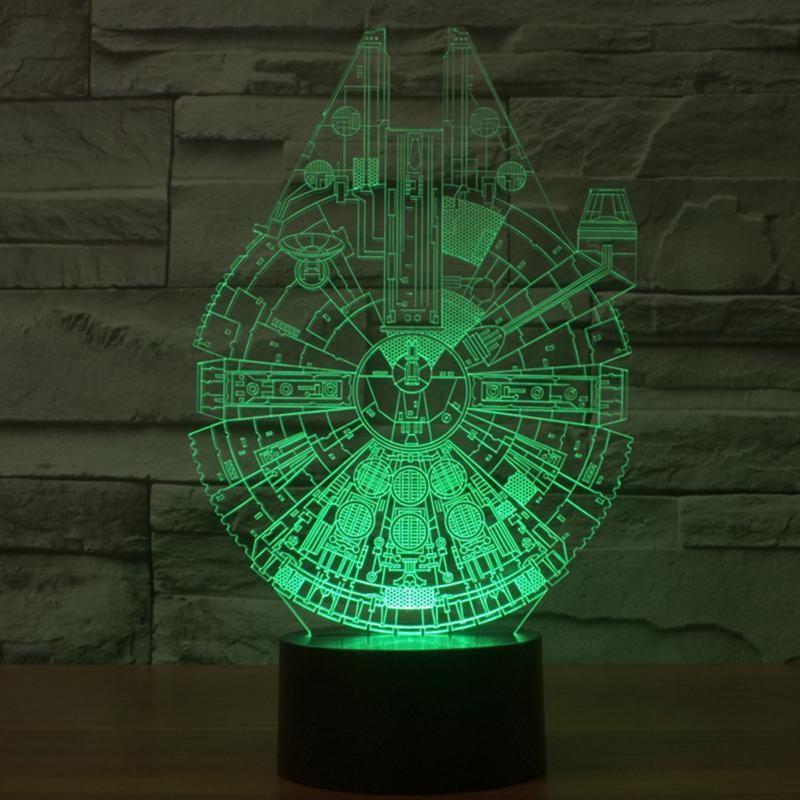 También se proyecta la Estrella de la Muerte o R2-D2