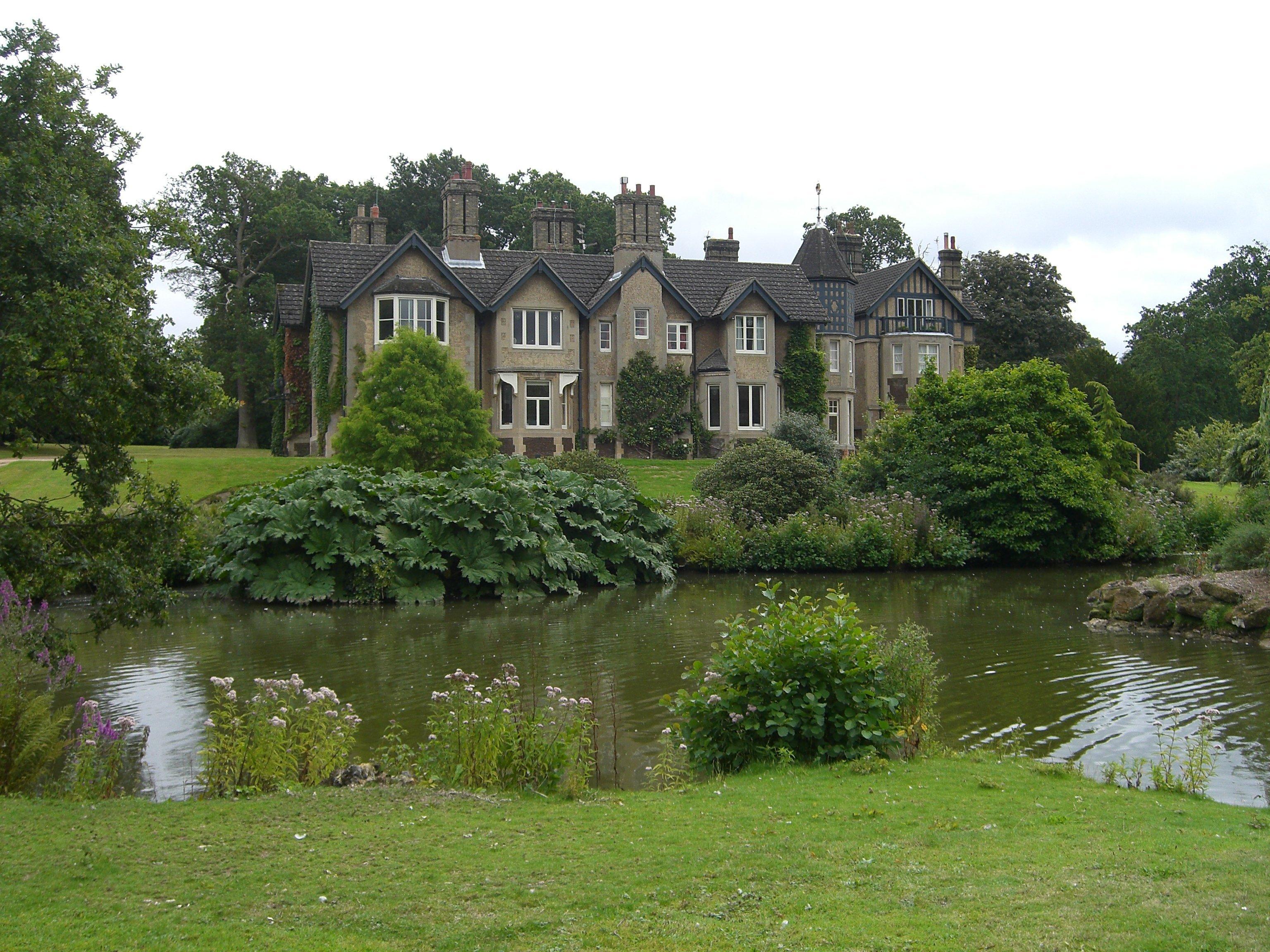 Vista del exterior de la propiedad / Wikimedia commons
