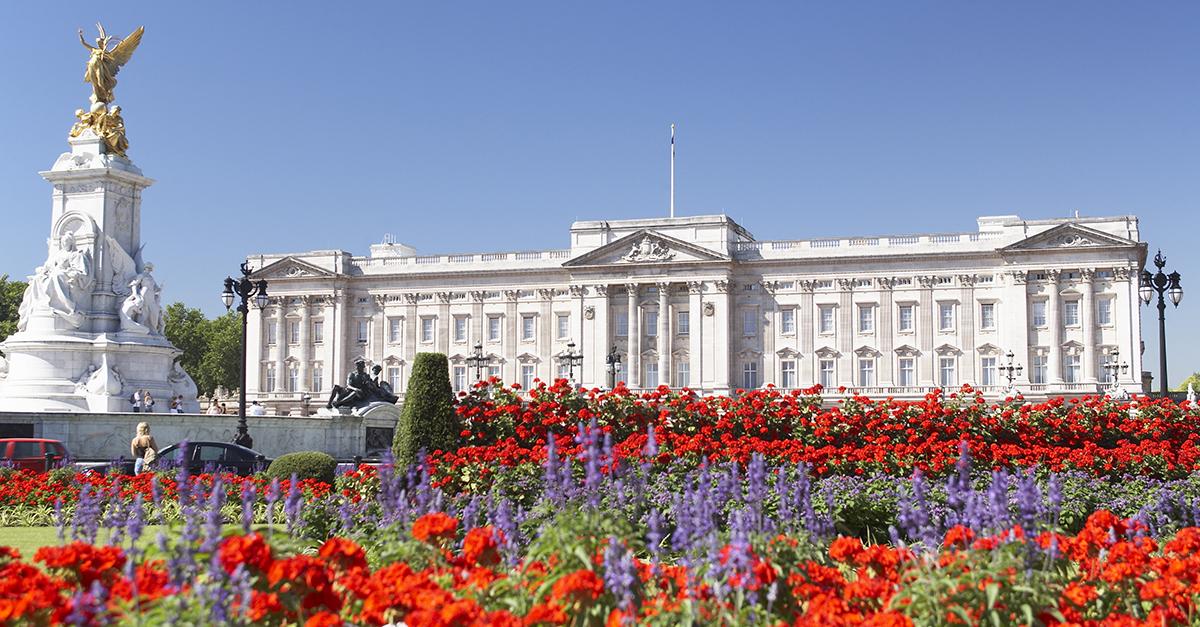 El palacio de Buckingham, Londres