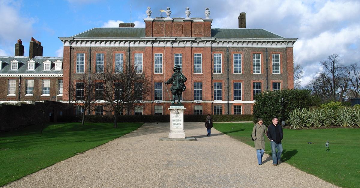 El palacio de Kensington, Londres