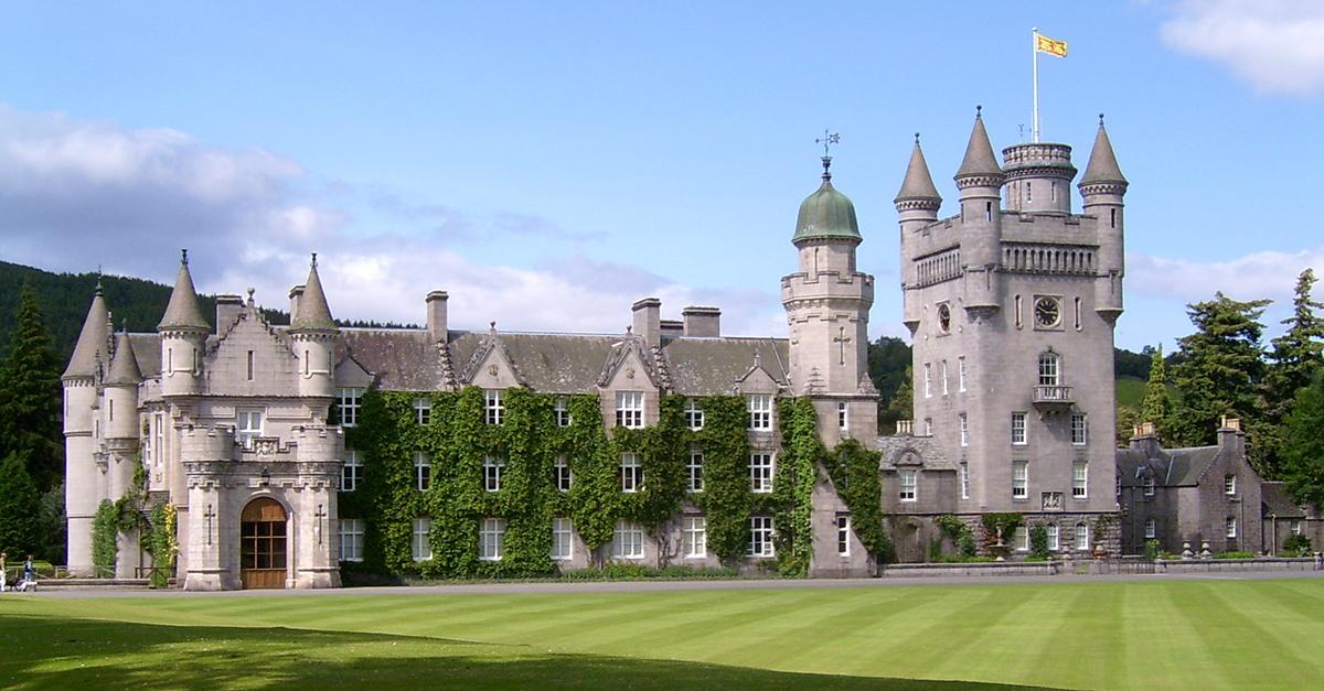 Castillo de Balmoral, Aberdeenshire (Escocia)