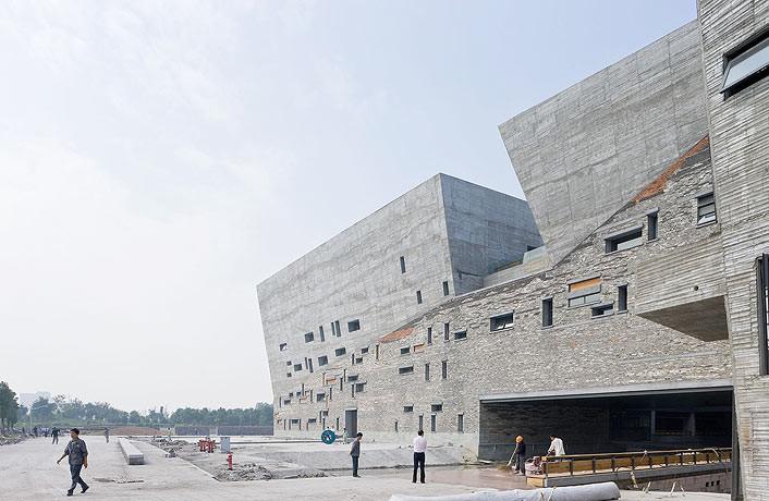 Museo de Historia de Ningbo / Wang Shu, Amateur Architecture Studio (China)