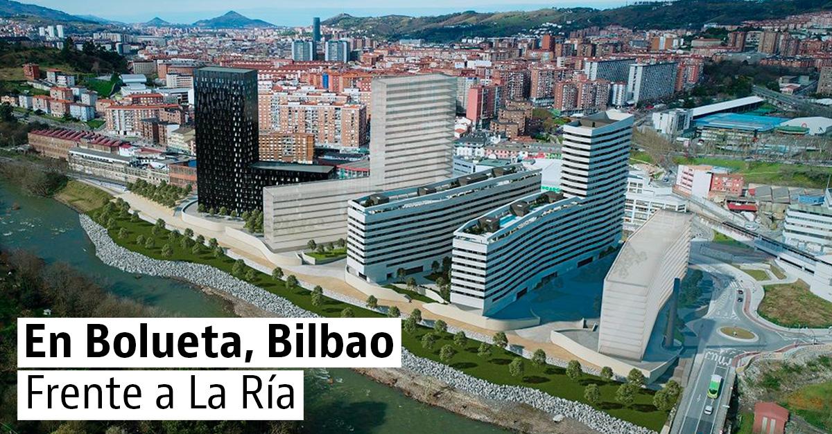 Neinor Homes construirá 328 viviendas nuevas con vistas a la Ría de Bilbao