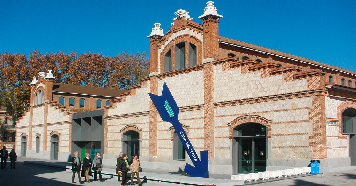 Casa del Lector en Matadero de  Madrid
