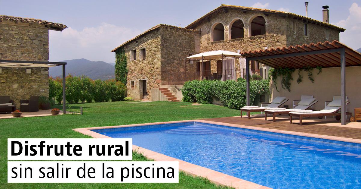 Las mejores casas rústicas con piscina para este verano