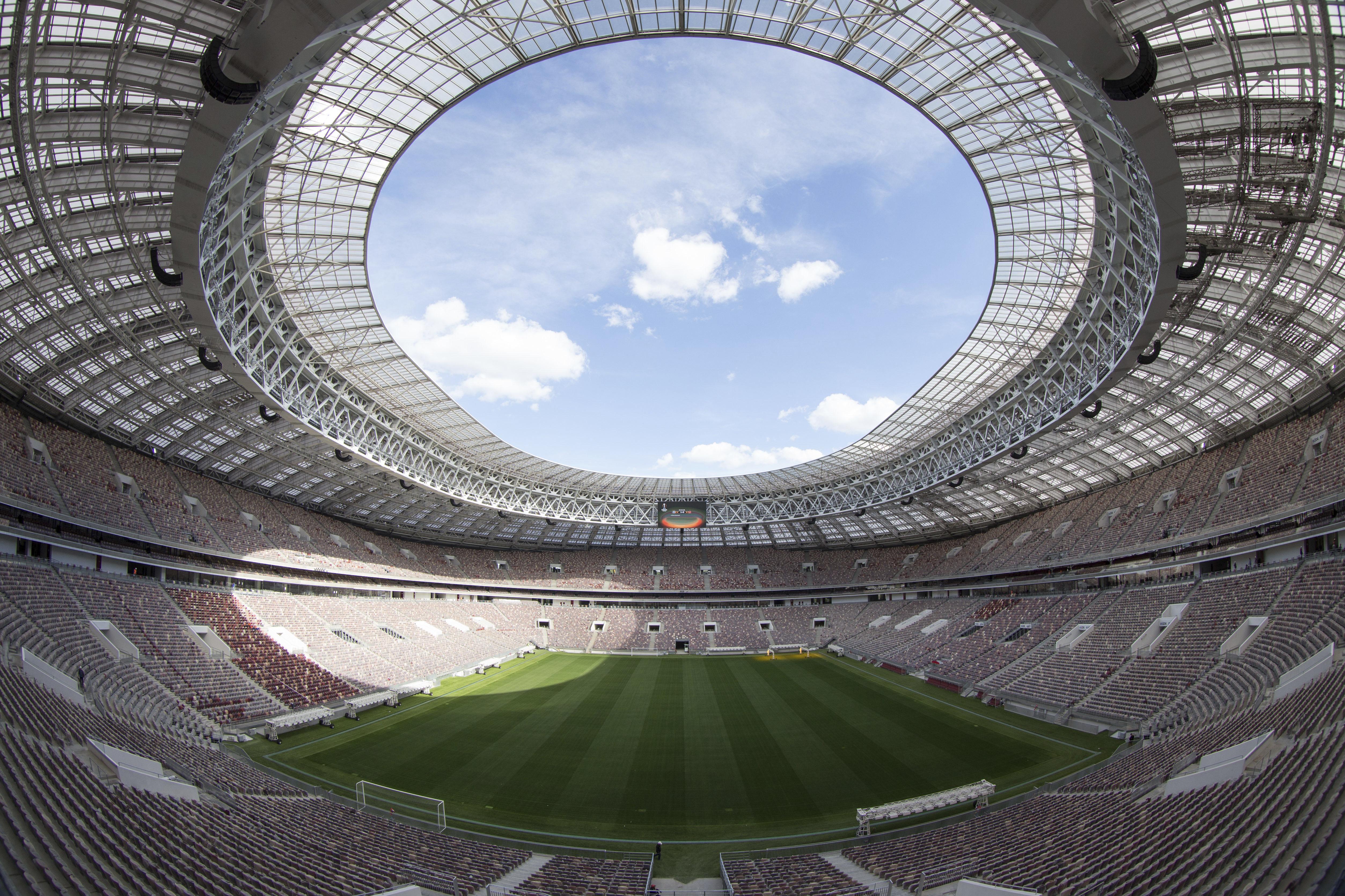 Luzhniki Stadium, sede del partido inaugural y la final del Mundial Rusia 2018 / Gtres
