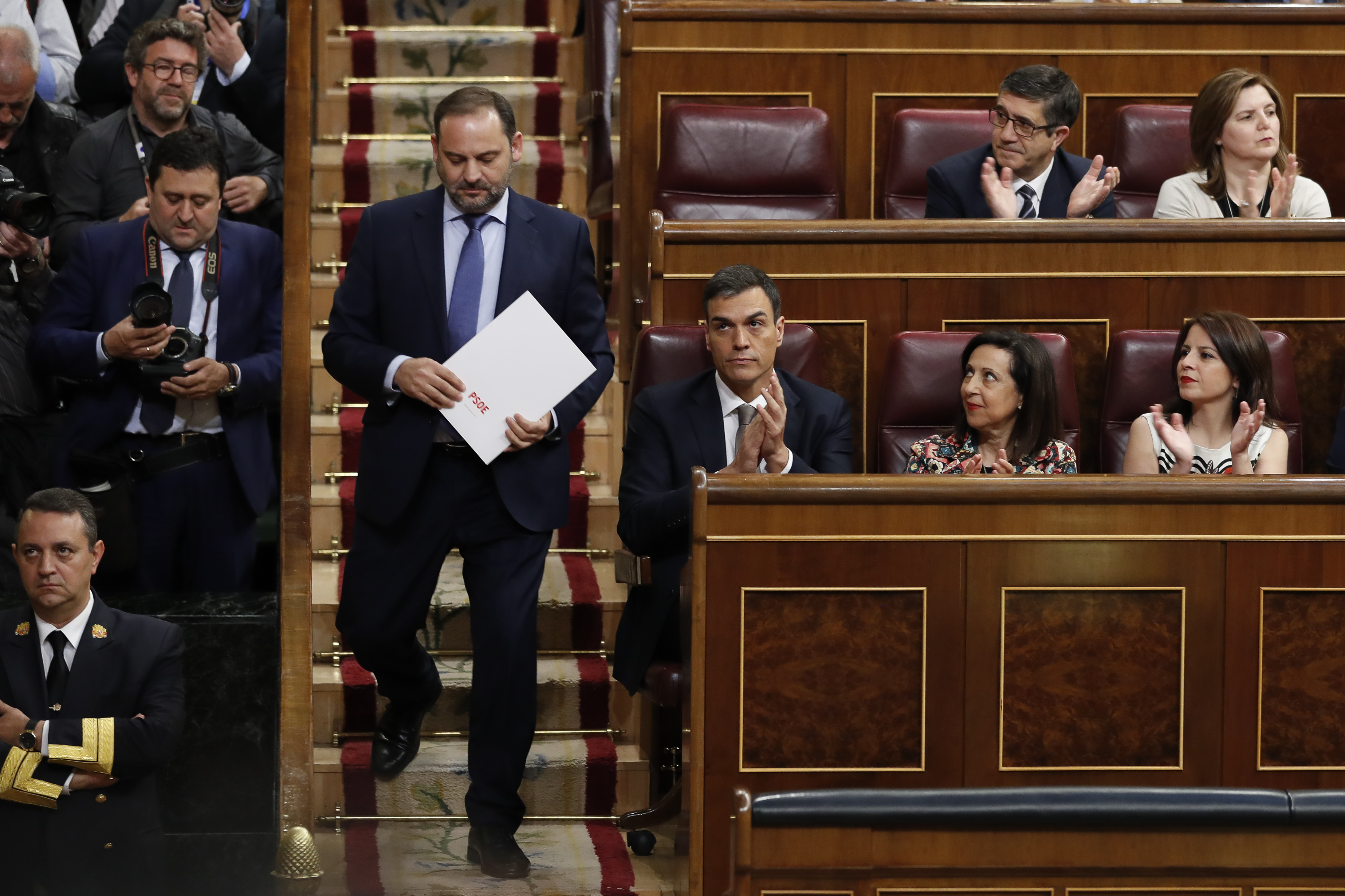 José Luis Ábalos seguirá como secretario de organización del PSOE junto a la cartera de Fomento / Gtres