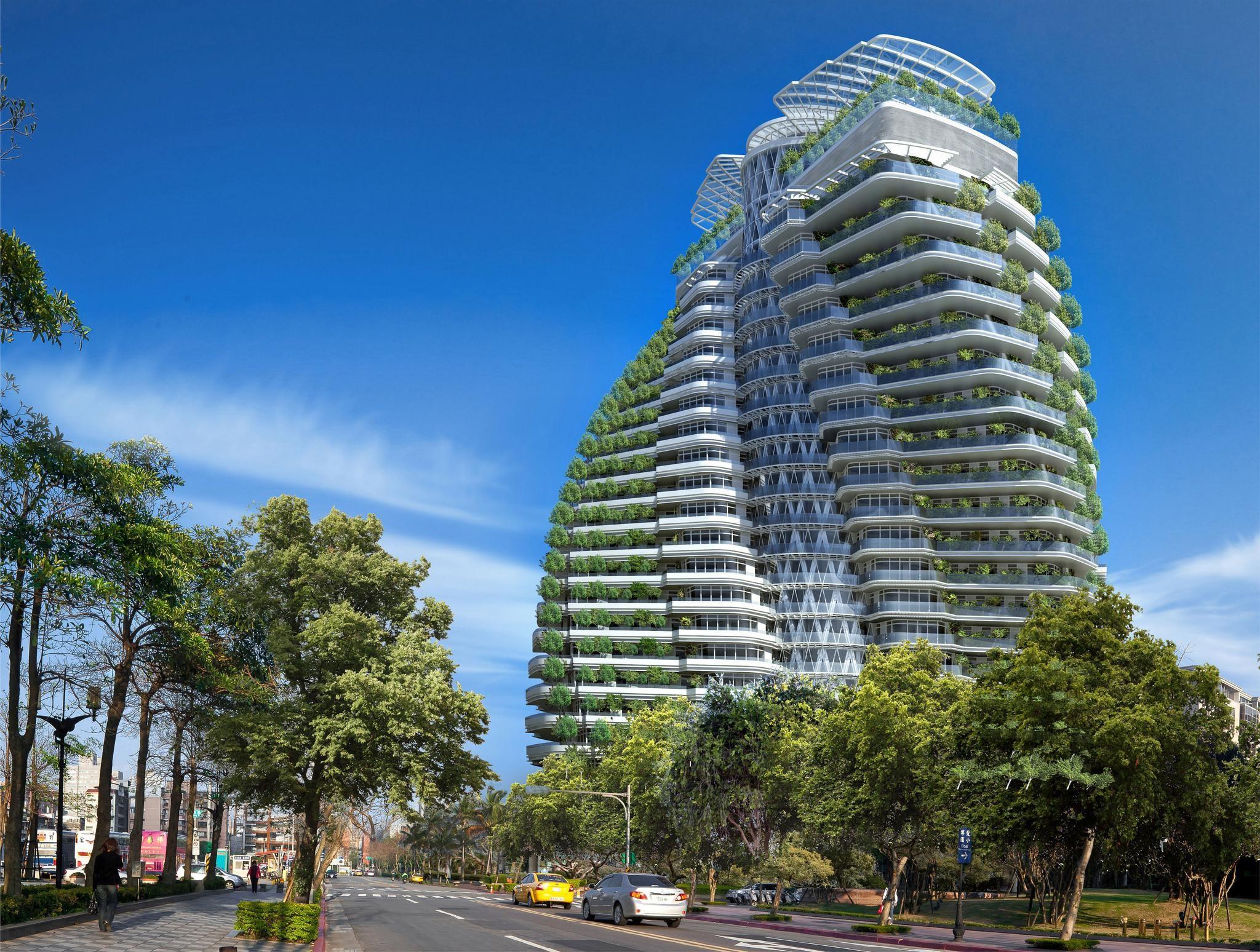 La torre está situada en la capital de Taiwán