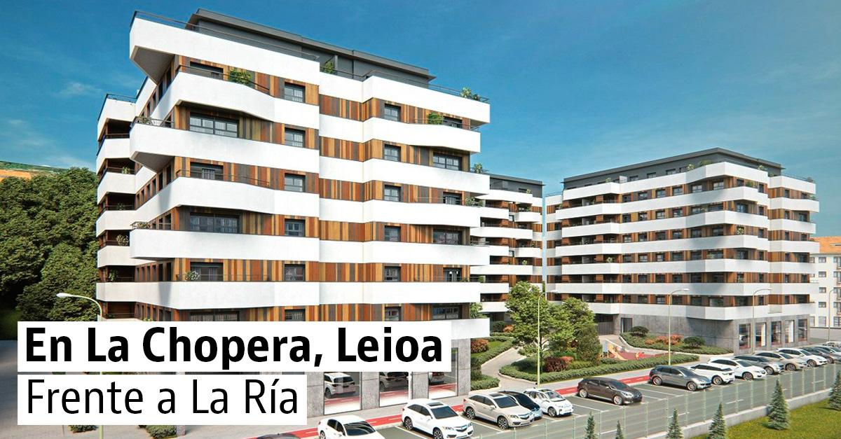 Neinor Homes levantará 122 viviendas nuevas en el municipio bilbaíno de Leioa