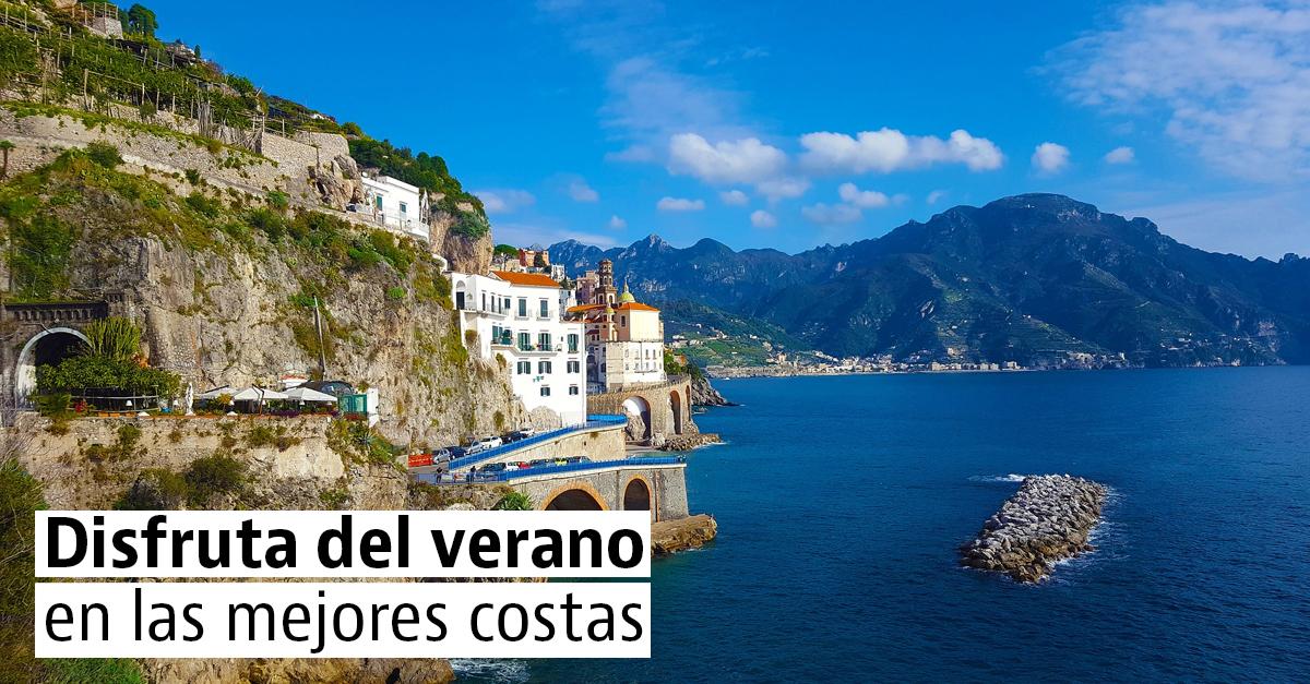 Las costas más espectaculares de España, Italia y Portugal