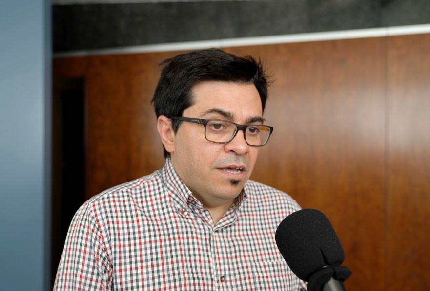Gerardo Pisarello celebra poder compartir con Nueva York experiencias y conocimiento en el área de vivienda. / Ajuntament de Barcelona