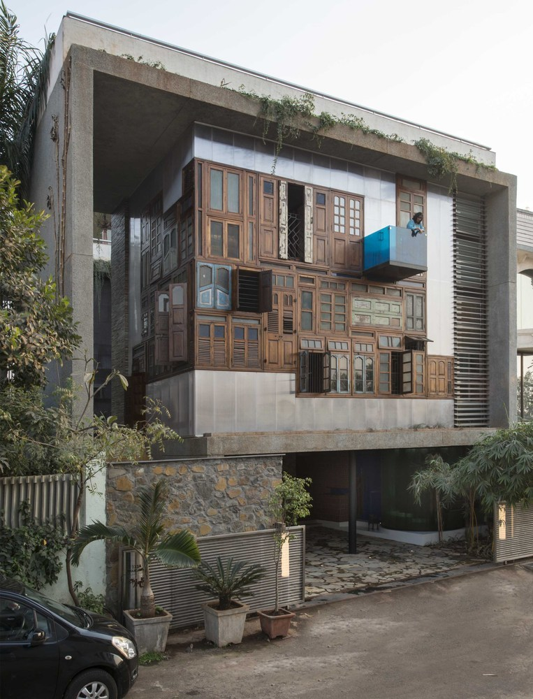 Collage House / S+PS Architects (India)