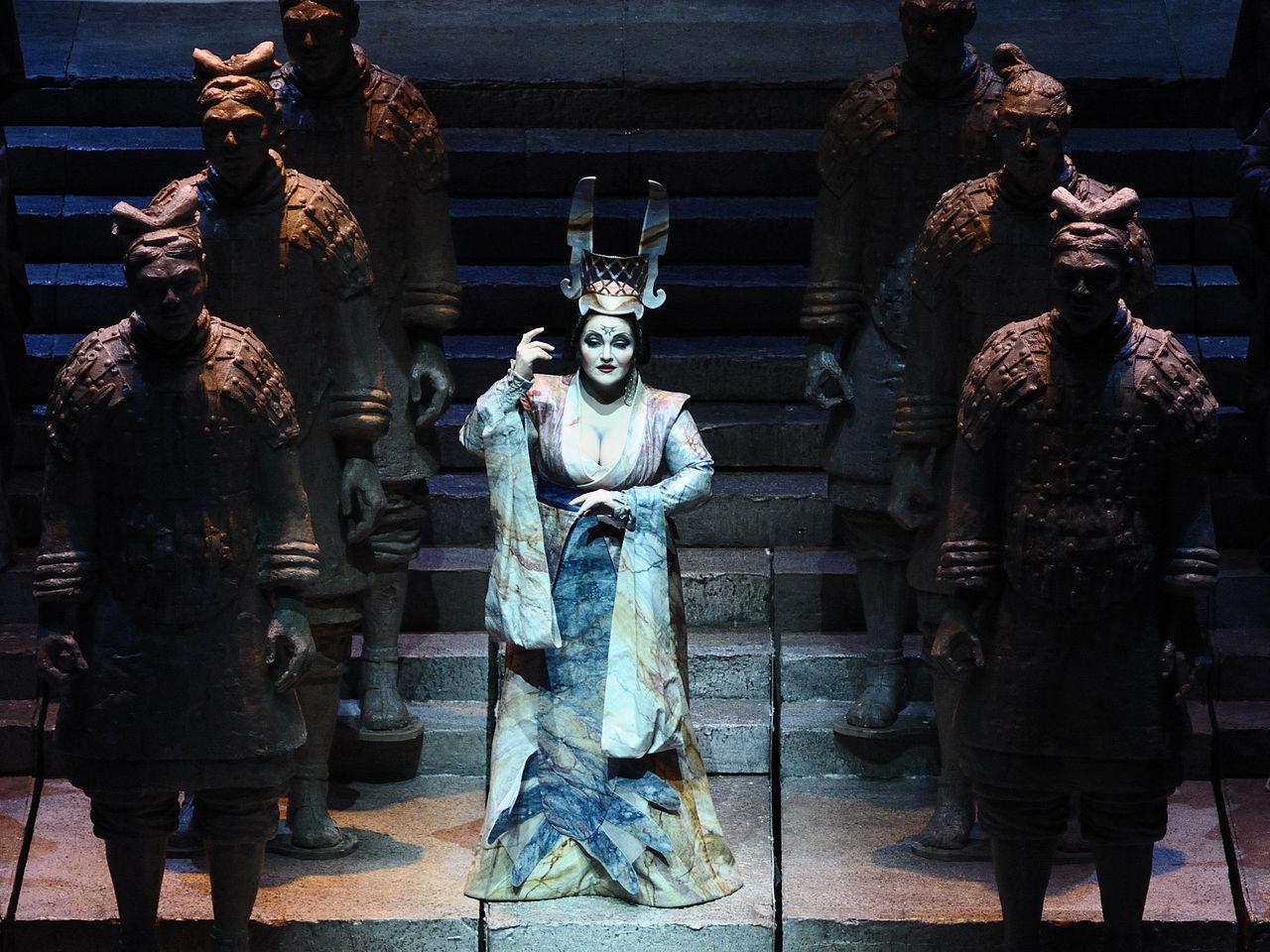Representación de 'Turandot' / Wikimedia commons