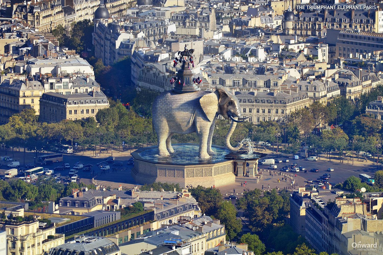 The Triumphant Elephant - París, Francia