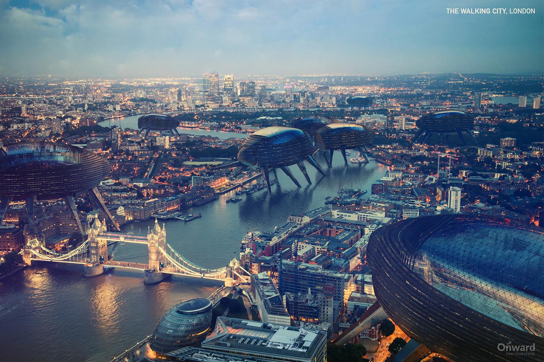 The Walking City - Londres, Inglaterra