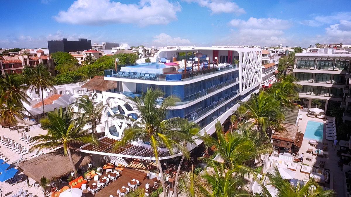 Vista del Hotel Carmen / The Carmen Hotel