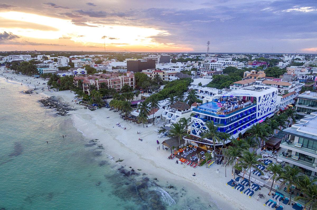 Vistas aéreas / The Carmen Hotel