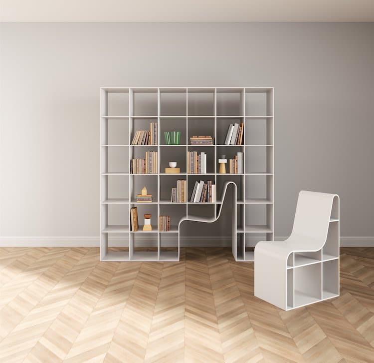 Librería y silla 2x1