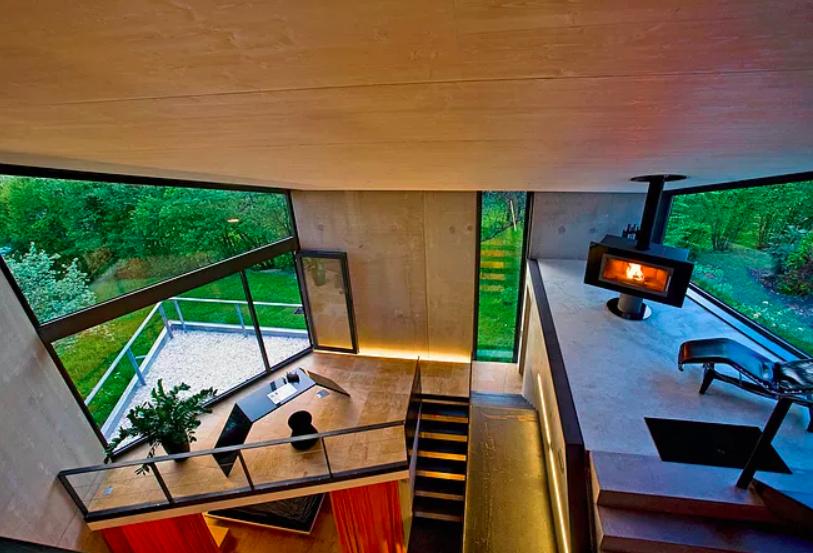 Lo diseñó el estudio Bräuning Architekt