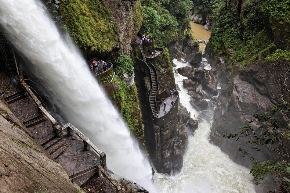 Catarata Pailón del Diablo, Ecuador
