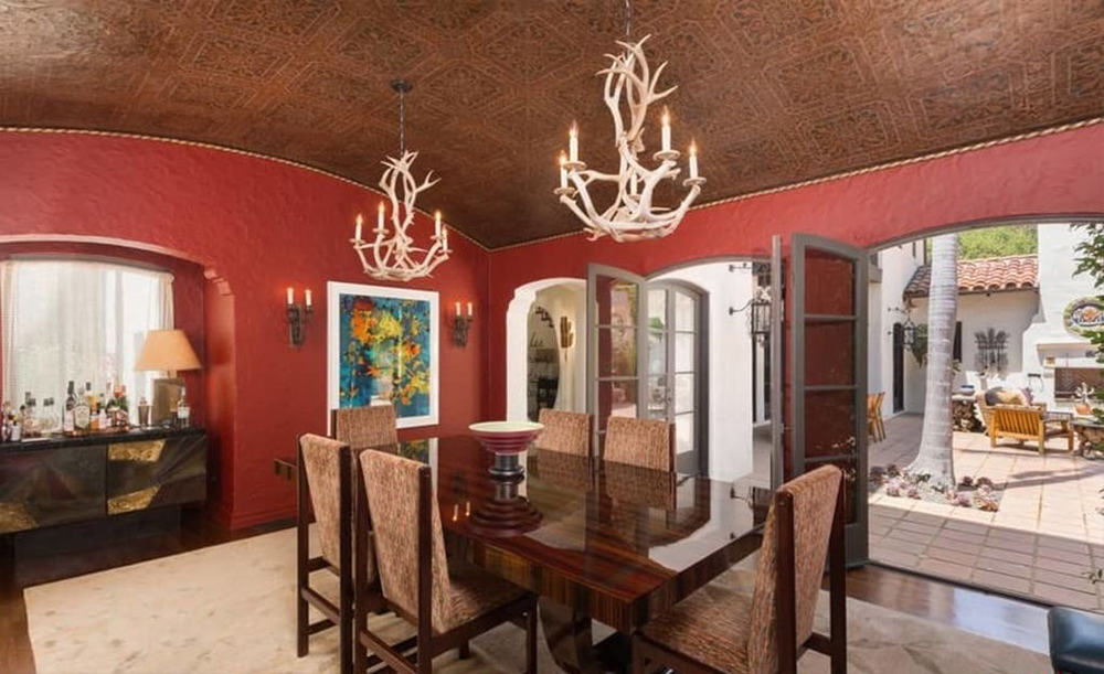 La vivienda respira un fuerte estilo español