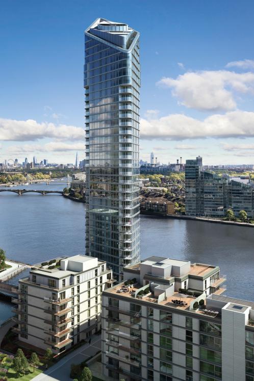 Forma parte del exclusivo proyecto Chelsea Waterfront