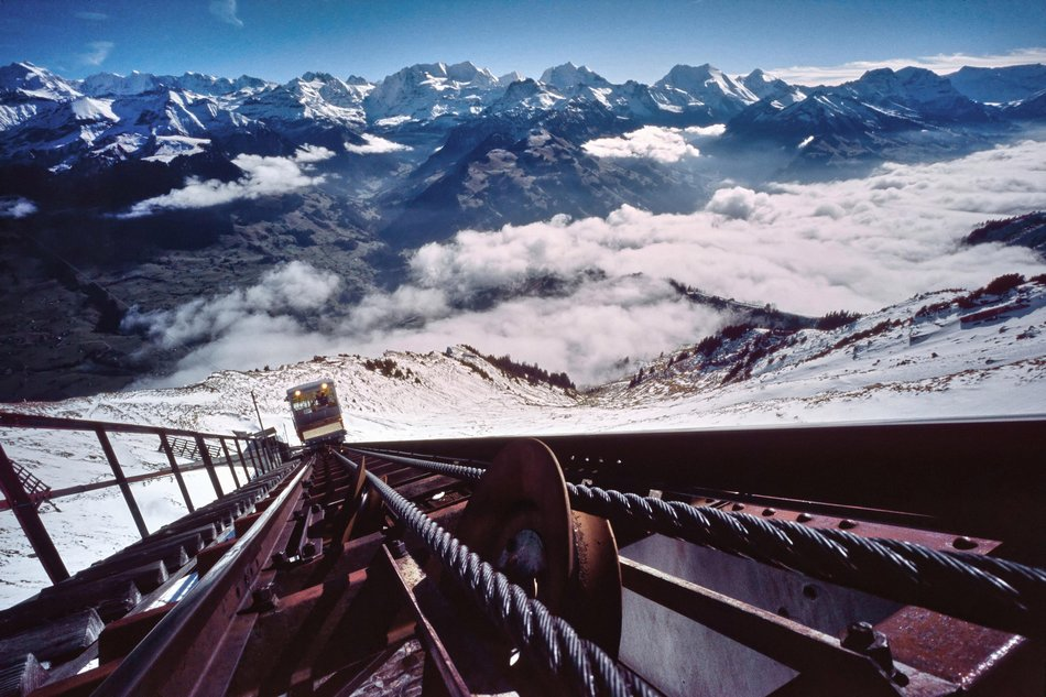 El ferrocarril Niesen, Suiza