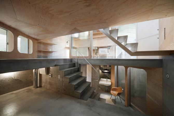 Es un proyecto de los japoneses Flat House