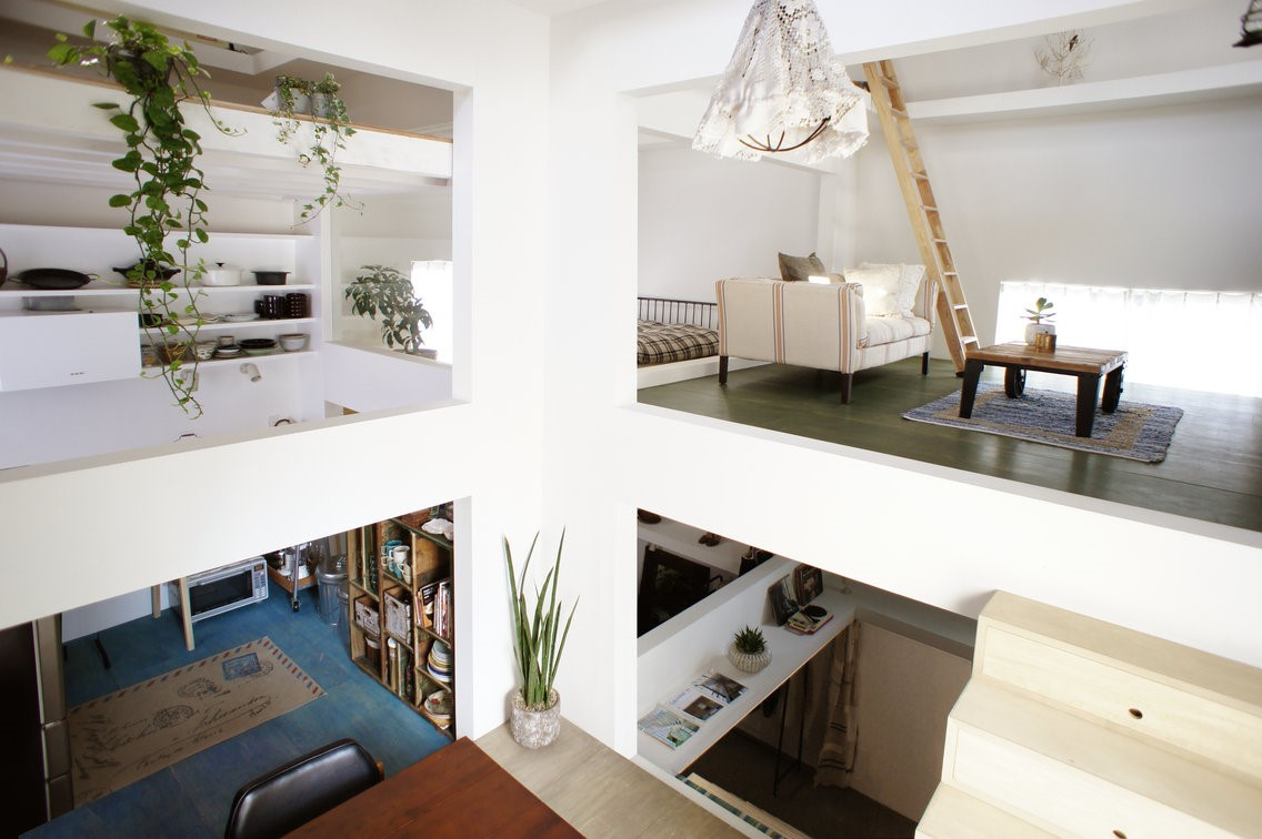 Es obra de Hiroyuki Shinozaki Architects