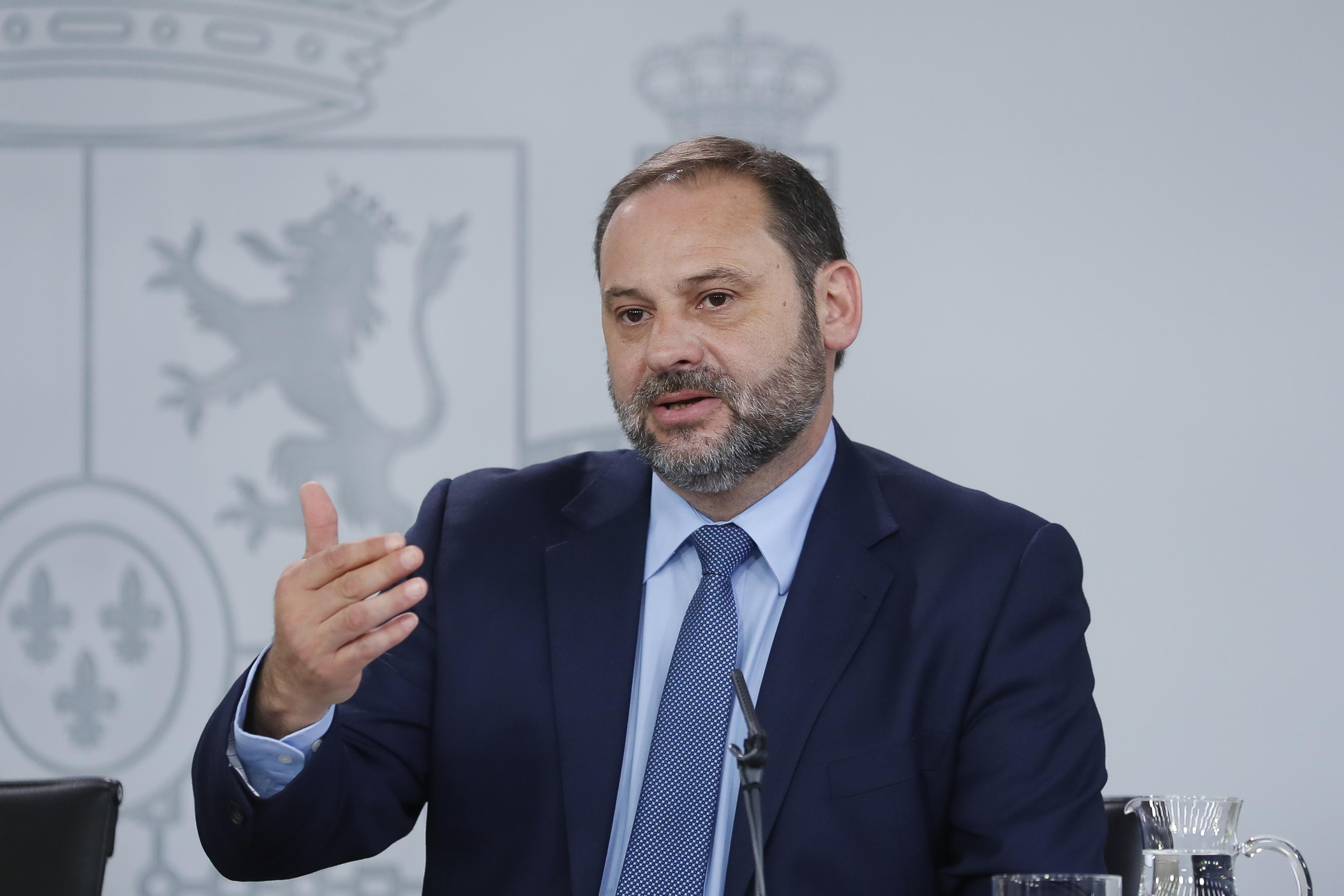 José Luis Ávalos, ministro de Fomento / Gtres