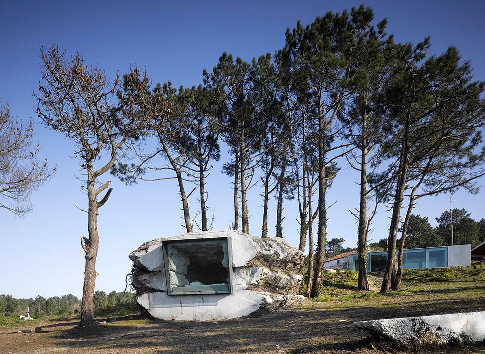 Se encuentra en la Costa da Morte gallega