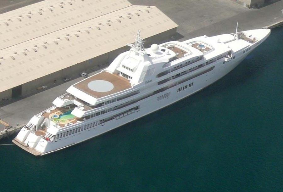 Su precio es de 357 millones de euros y tiene 160 metros de eslora