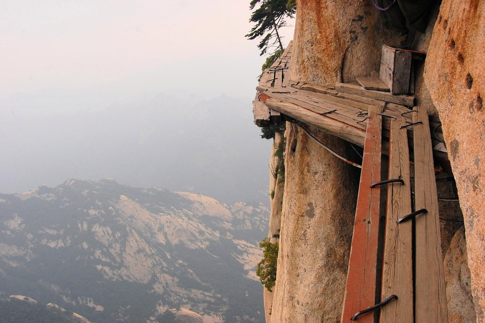 Monte Hua Shan, China