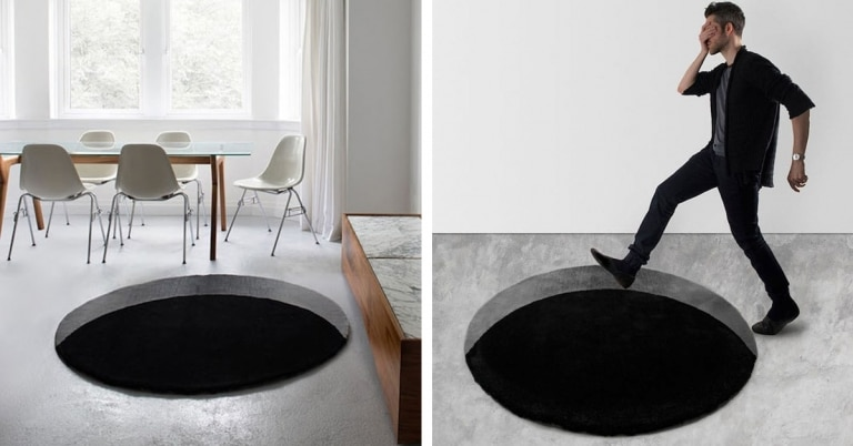 Ilusiones ópticas en el salón