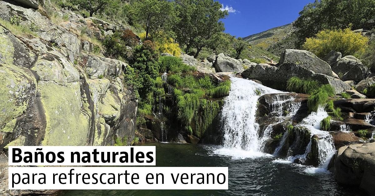 8 piscinas naturales para sobrellevar el calor