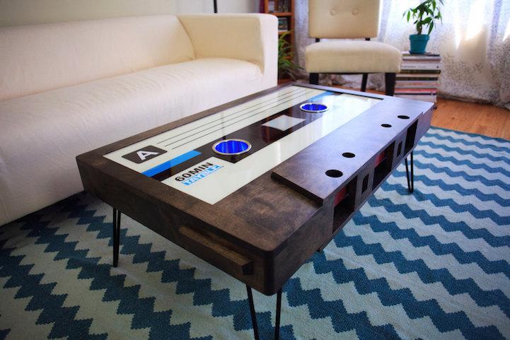 La mesa casete