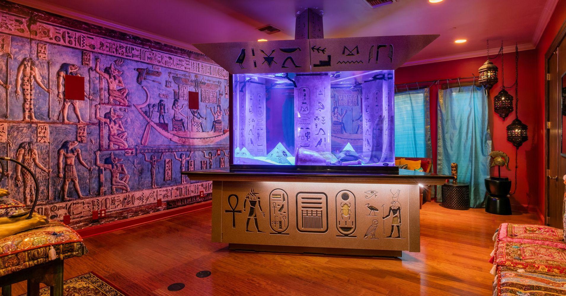 El salón de Egipto
